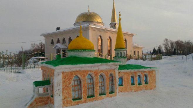 татар снег